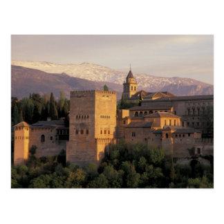 Cartão Postal Espanha, Granada, Andalucia o Alhambra,