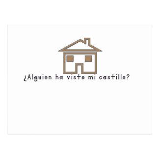 Cartão Postal Espanhol-Castelo
