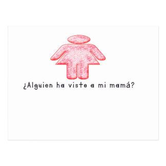 Cartão Postal Espanhol-Momma