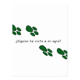 Cartão Postal Espanhol-Ogre
