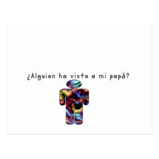 Cartão Postal Espanhol-Pai