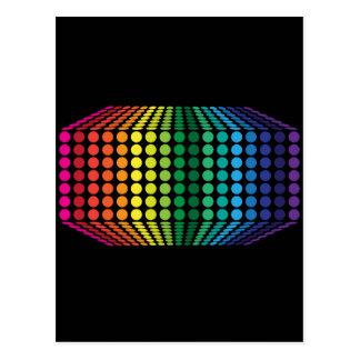 Cartão Postal espectro 3D