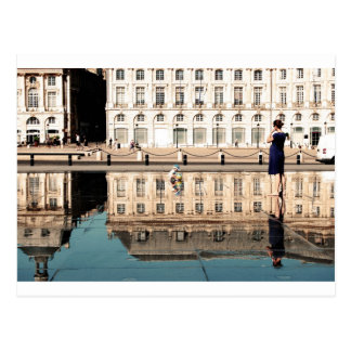 Cartão Postal Espelho da água no Bordéus