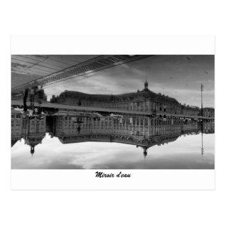 Cartão Postal Espelho de água