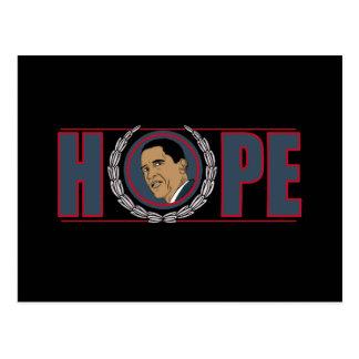 Cartão Postal Esperança de Barack Obama