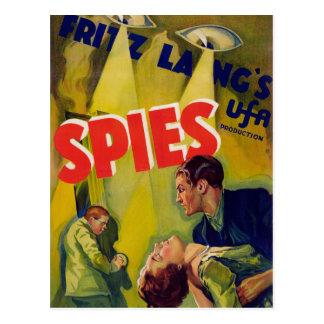 Cartão Postal Espião (1928)