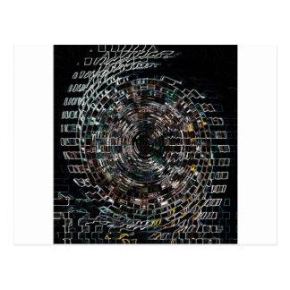 Cartão Postal Espiral