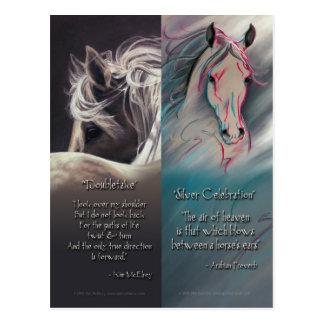 Cartão Postal Espírito de marcador do cavalo