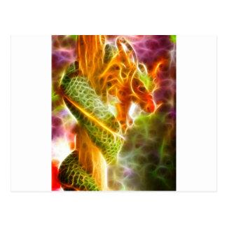 Cartão Postal Espírito do dragão