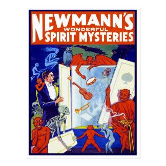 Cartão Postal Espírito maravilhoso Mistério, 1911