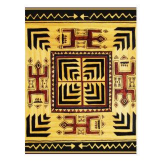 Cartão Postal Espírito tribais do sudoeste