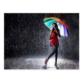 Cartão Postal Espirro na chuva
