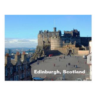 Cartão Postal Esplanade do castelo de Edimburgo, Edimburgo,