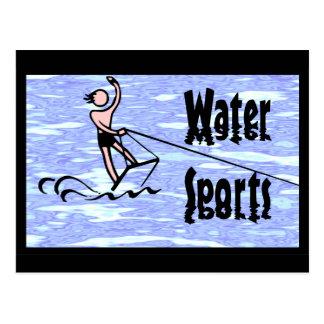 Cartão Postal Esportes de água