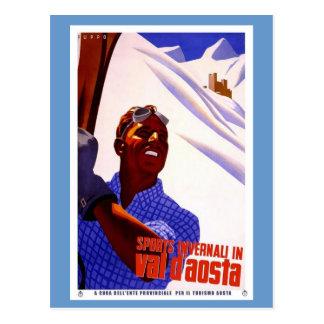 Cartão Postal Esportes em Val - aosta de d '
