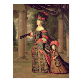 Cartão Postal Esposa de Maria Theresa de Louis XIV