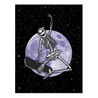 Cartão Postal Esqueleto do conselho