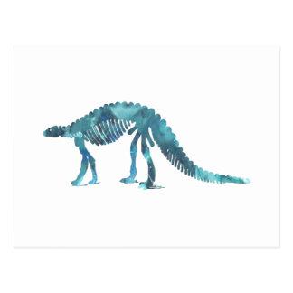 Cartão Postal Esqueleto do dinossauro (Scelidosaurus)