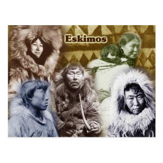 Cartão Postal Esquimós de Alaska (1904 -1930)