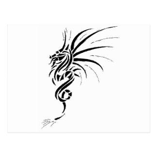 Cartão Postal Essemios - dragão furioso