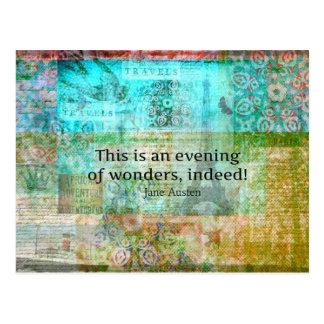 Cartão Postal Esta é uma noite das maravilhas, certamente! JANE