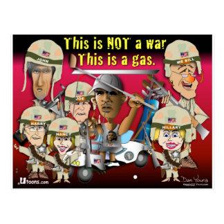 Cartão Postal Esta não é uma guerra