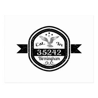 Cartão Postal Estabelecido em 35242 Birmingham