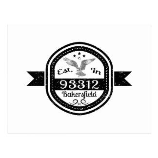 Cartão Postal Estabelecido em 93312 Bakersfield