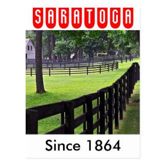 Cartão Postal Estábulos de Godolphin & de Darley em Saratoga
