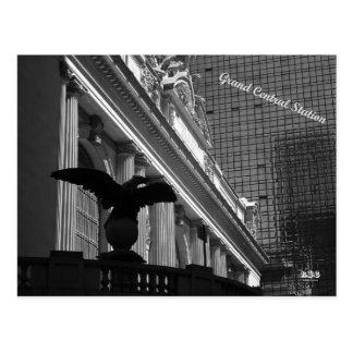Cartão Postal Estação central grande de N.Y.E