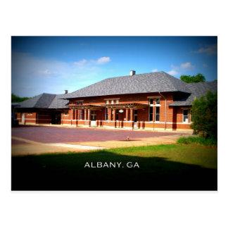 Cartão Postal ESTAÇÃO da UNIÃO - Albany, Geórgia