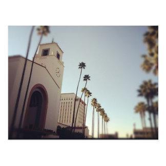 Cartão Postal Estação da união de Los Angeles