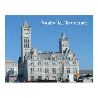 Cartão Postal Estação da união de Nashville