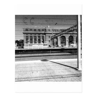 Cartão Postal Estação da união de New Haven