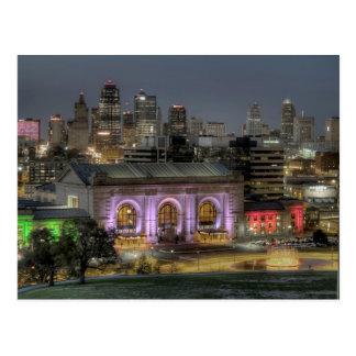 Cartão Postal Estação da união (Kansas City)