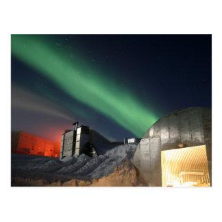 Cartão Postal Estação de Amundsen-Scott pólo sul, a Antártica