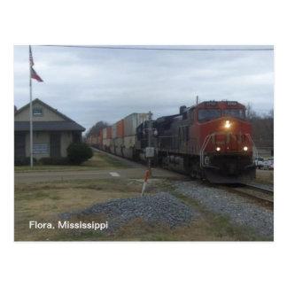 Cartão Postal Estação de caminhos-de-ferro