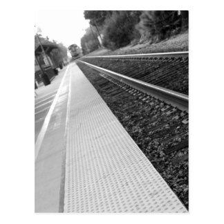 Cartão Postal Estação de caminhos-de-ferro de Ventura