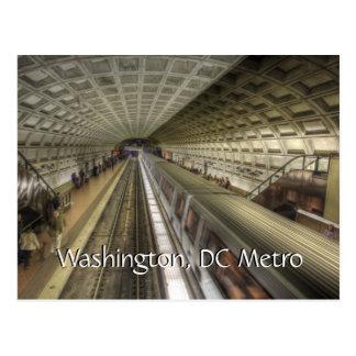 Cartão Postal Estação de caminhos-de-ferro do metro do