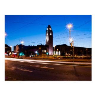 Cartão Postal Estação de comboio de Helsínquia