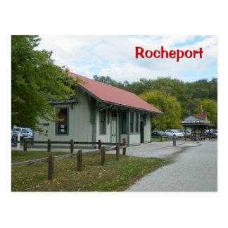 Cartão Postal Estação de estrada de ferro de Rocheport