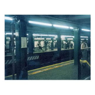 Cartão Postal Estação de metro