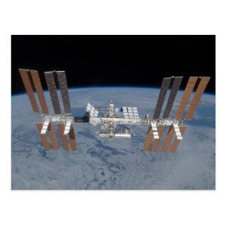 Cartão Postal Estação espacial internacional
