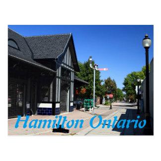 Cartão Postal Estação Hamilton Ontário de Ferguson