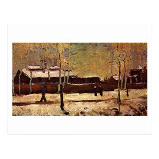 Cartão Postal Estação velha em Eindhoven, Vincent van Gogh