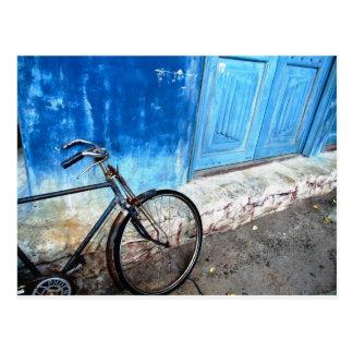 Cartão Postal Estacionamento da bicicleta