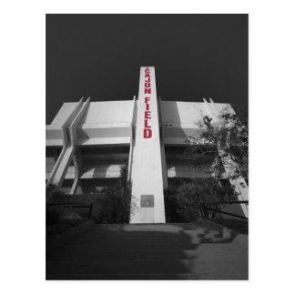 Cartão Postal Estádio do campo de ULL Cajun