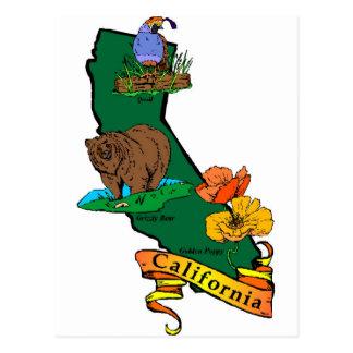 Cartão Postal Estado de Califórnia