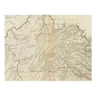 Cartão Postal Estado de Virgínia
