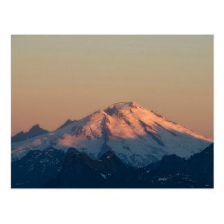 Cartão Postal Estado de Washington, cascatas nortes. Padeiro da